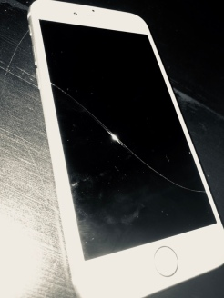 The IPhone 6- recently retired, grievously injured battery and detrimentsalal crackage